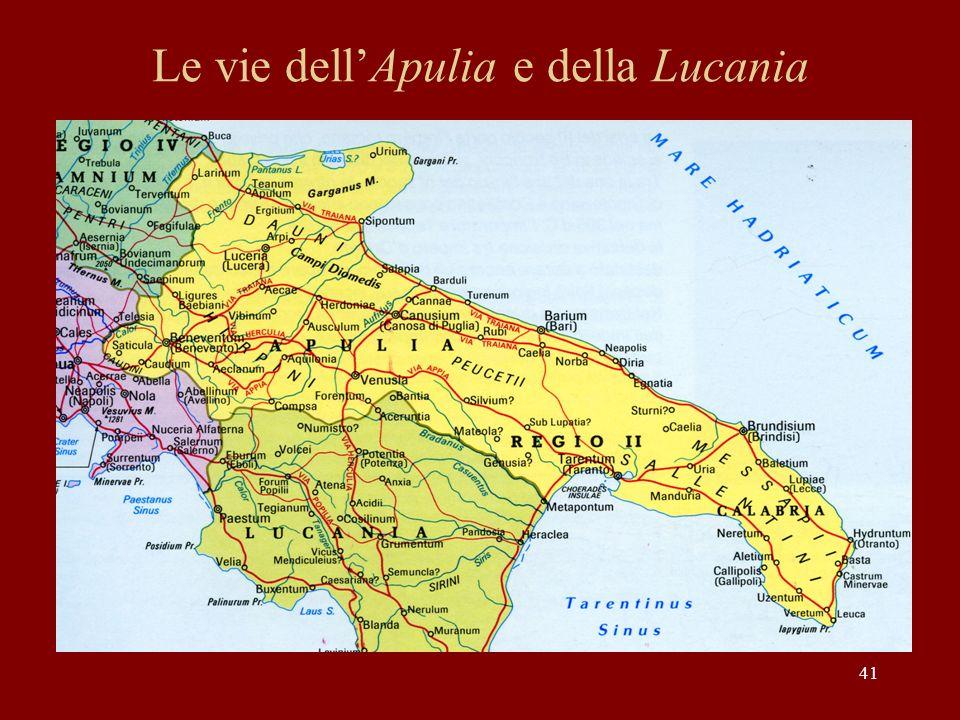 Le vie dellApulia e della Lucania 41