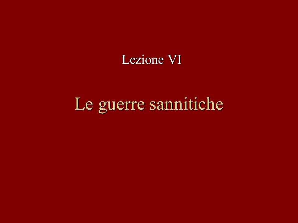 2 Roma entra in contatto con il territorio sannita Le vittoriose campagne nel Lazio meridionale contro i Volsci portano Roma ad entrare il contatto con il territorio della Lega Sannitica, che si estendeva nellAppennino centro-meridionale, tra il Sangro e lOfanto.