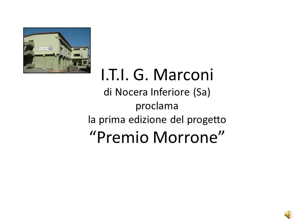 I.T.I. G. Marconi di Nocera Inferiore (Sa) proclama la prima edizione del progetto Premio Morrone