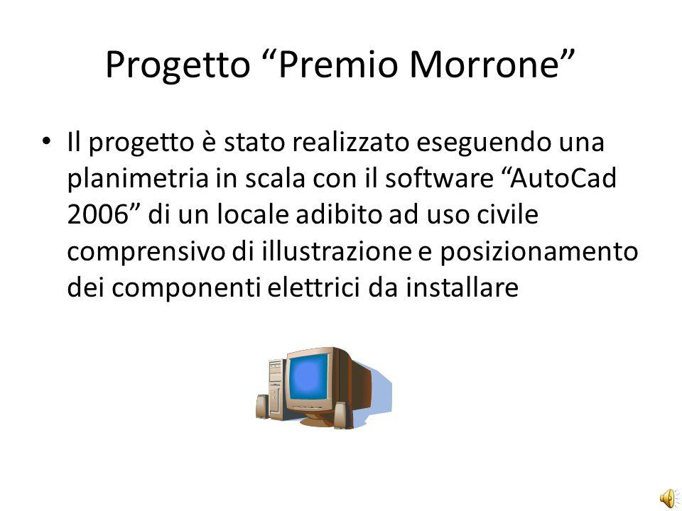 Progetto Premio Morrone La classe V D di Elettrotecnica e Automazione ha partecipato con due dei suoi studenti Pinto Salvatore e Luciano Giuseppe che hanno coordinato il lavoro con il proprio tutor Ing.