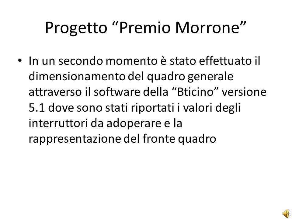 Progetto Premio Morrone