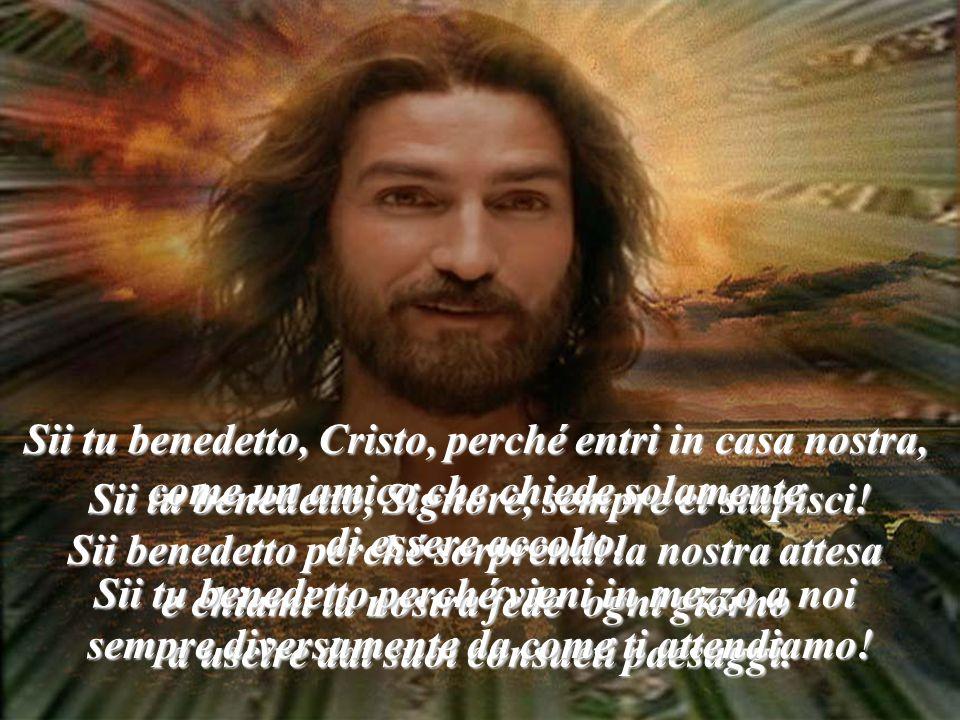 Benedetto colui che viene, il re, nel nome del Signore (Lc. 19,38)
