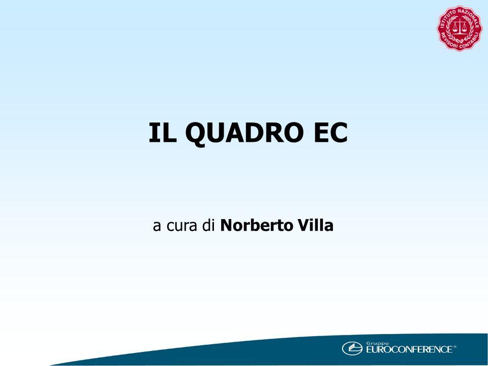IL QUADRO EC a cura di Norberto Villa