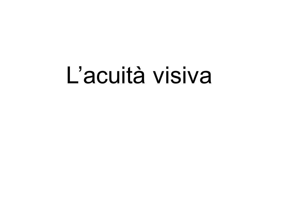 Lacuità visiva