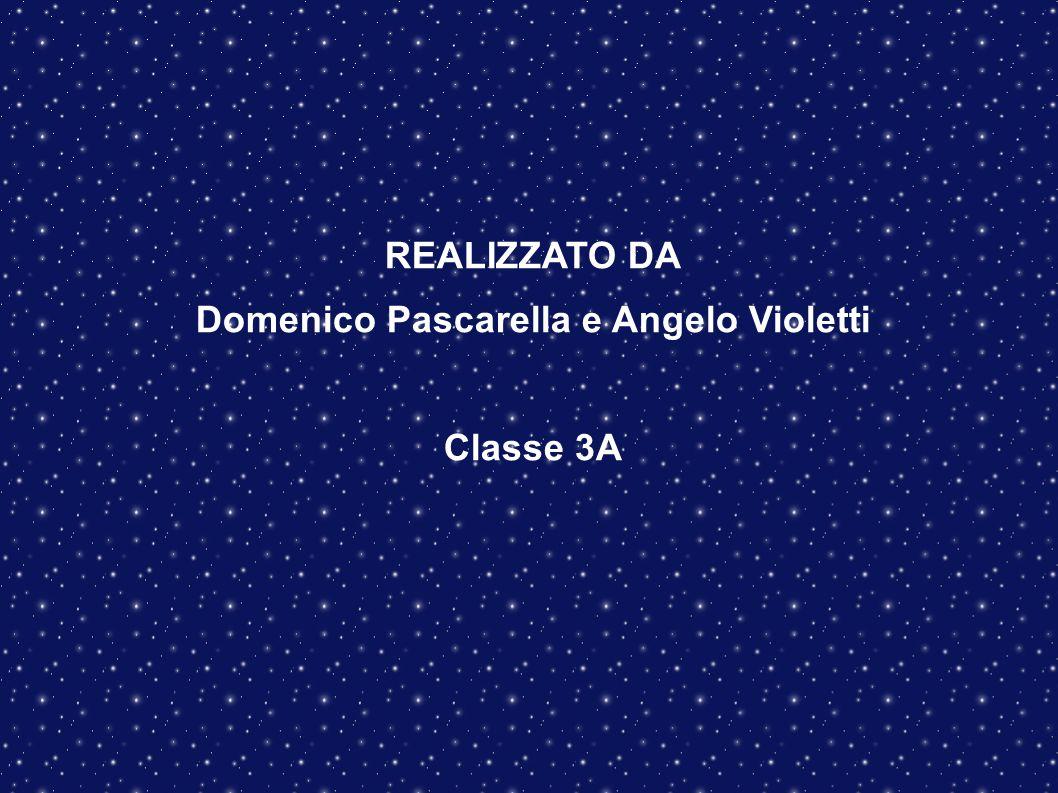 REALIZZATO DA Domenico Pascarella e Angelo Violetti Classe 3A