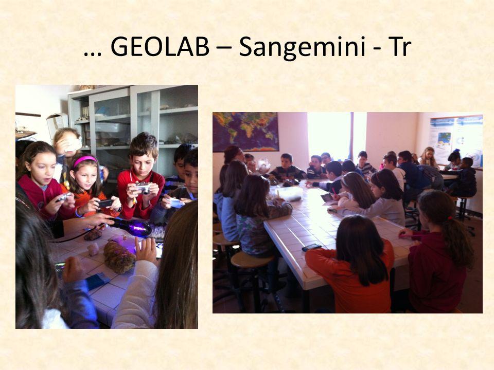 … GEOLAB – Sangemini - Tr