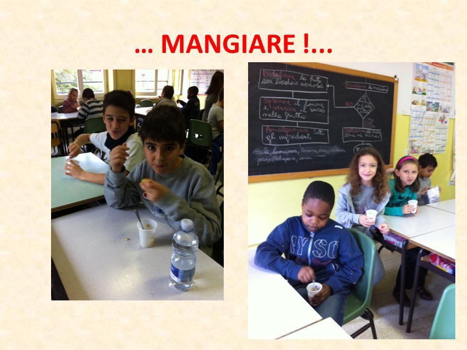 … MANGIARE !...