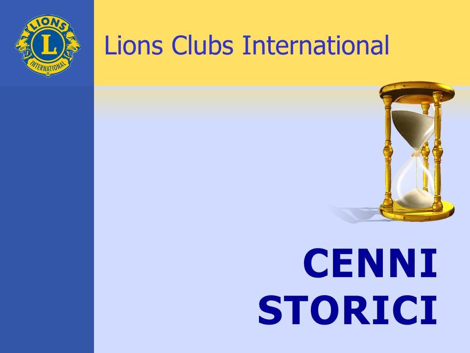 1917 Melvin Jones Fonda l Associazione dei Lions Clubs