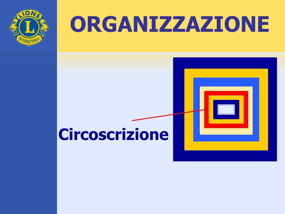 Circoscrizione ORGANIZZAZIONE