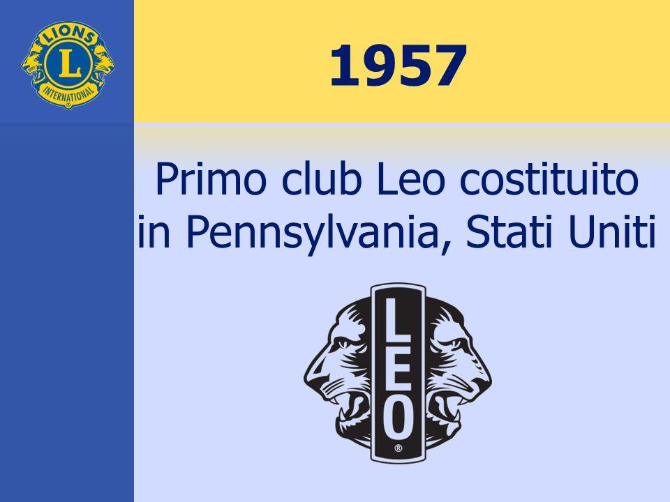 1968 Fondazione Lions Clubs International
