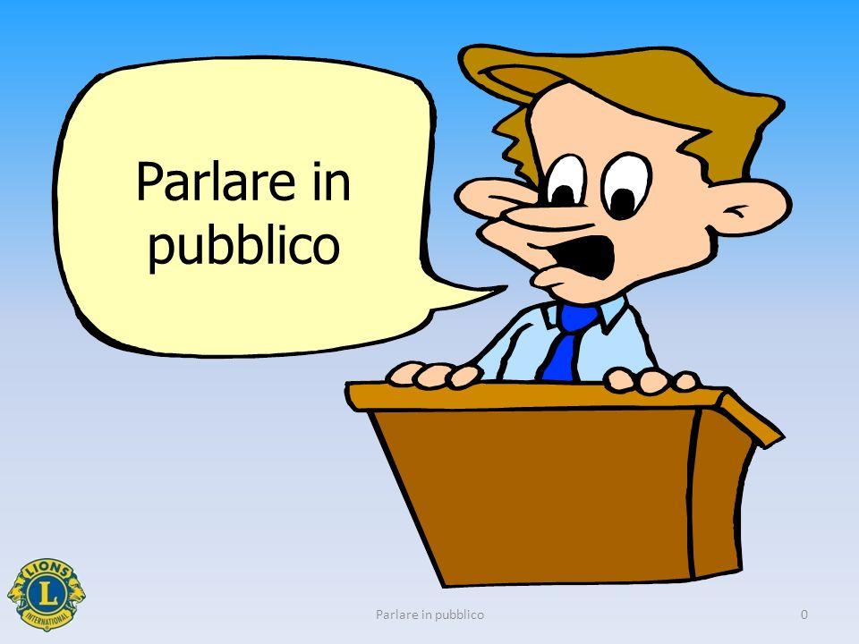 Parlare in pubblico 0