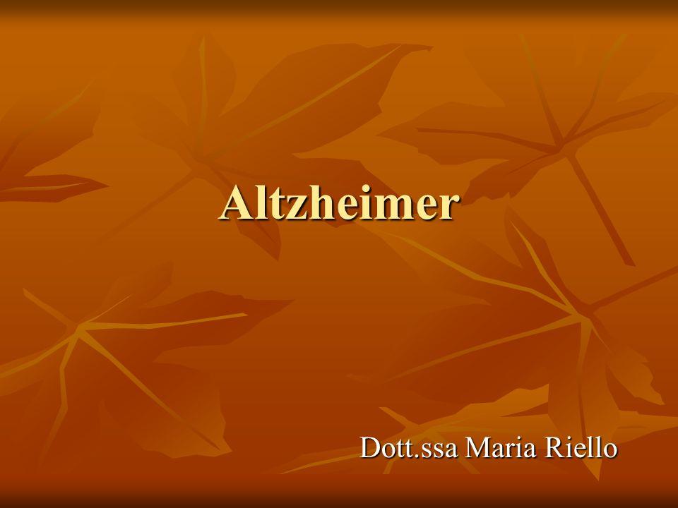 Cosè Il morbo di Alzheimer è una demenza degenerativa invalidante ad esordio prevalentemente senile (oltre i 60 anni, ma può manifestarsi anche in epoca presenile - prima dei 60 anni) e prognosi infausta.