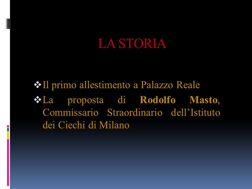 ALCUNI NUMERI 30.000 : visitatori che partecipano al primo allestimento di Palazzo Reale, fra ottobre 2002 e febbraio 2003.