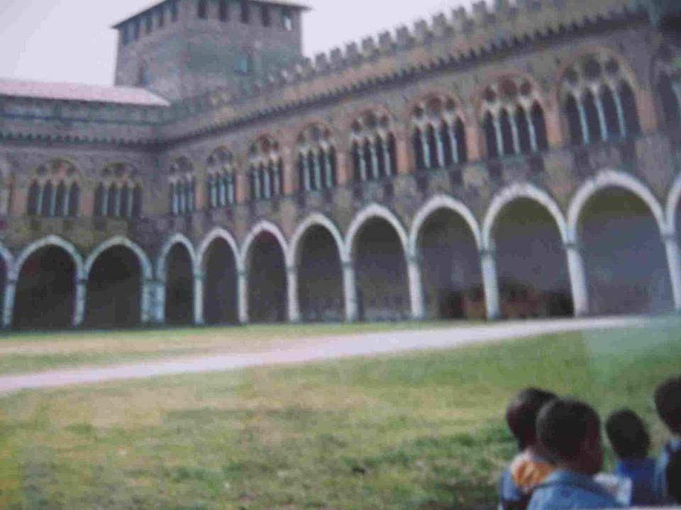 LA VISITA AL CASTELLO VISCONTEO DI PAVIA 14 maggio 2009
