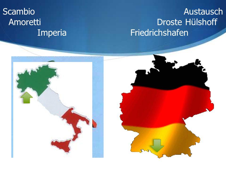 Scambio Austausch Amoretti Droste Hülshoff Imperia Friedrichshafen