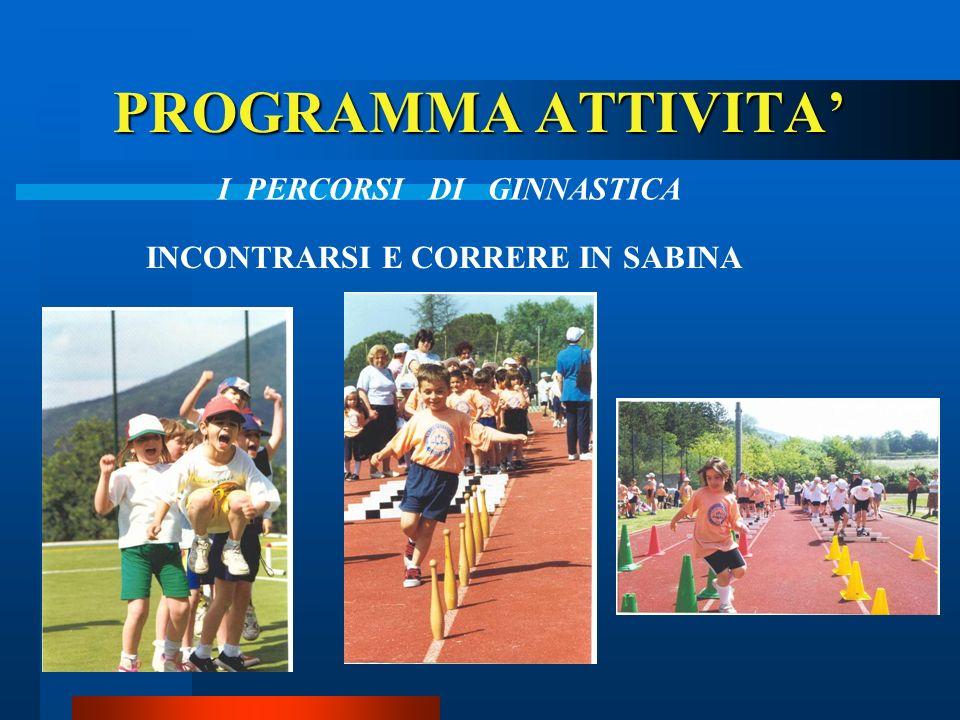 PROGRAMMA ATTIVITA CORSA CAMPESTRE Campestrone CORRI IN PIAZZA Trofeo Don Bosco