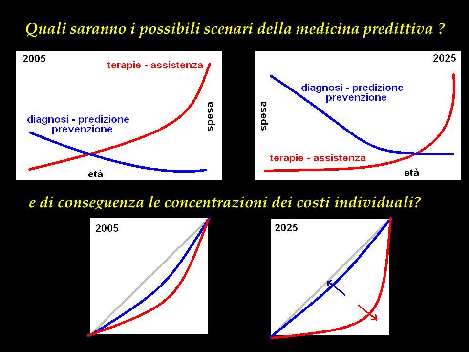 Quali saranno i possibili scenari della medicina predittiva .