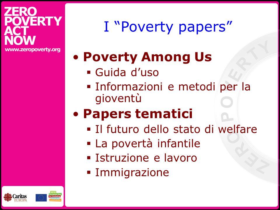 Strumenti e materiali Il sito web di ZeroPoverty: www.zeropoverty.org Lend your voice to our campaign and make it your aim to motivate 10 people to join Zero Poverty.