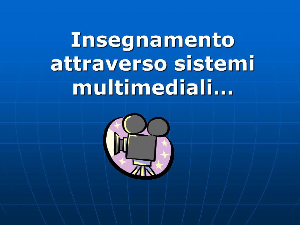 Prevede l integrazione di materiale didattico cartaceo con audio e videocassette e in alcuni casi con programmi per il computer.