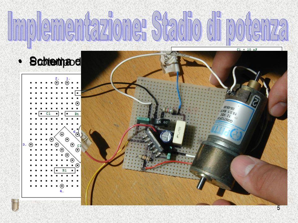 5 Schema elettrico Schema di montaggioPrototipo