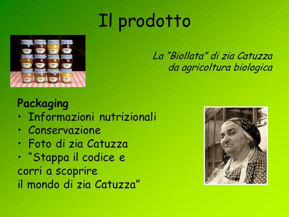 Il prodotto La Biollata di zia Catuzza da agricoltura biologica Packaging Informazioni nutrizionali Conservazione Foto di zia Catuzza Stappa il codice