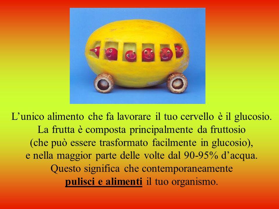 Imparare a mangiare la frutta è molto importante! La frutta é un alimento perfetto, spende una quantità minima di energia per essere digerita e dona a