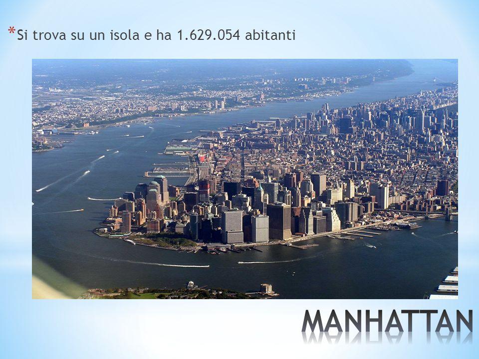 * Si trova su un isola e ha 1.629.054 abitanti