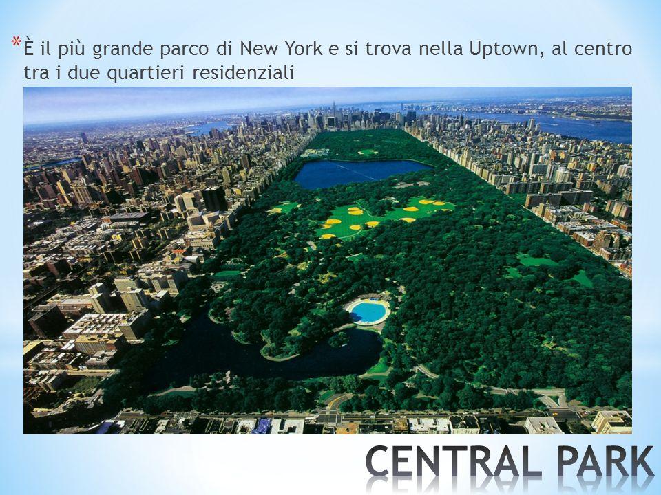 * È il più grande parco di New York e si trova nella Uptown, al centro tra i due quartieri residenziali