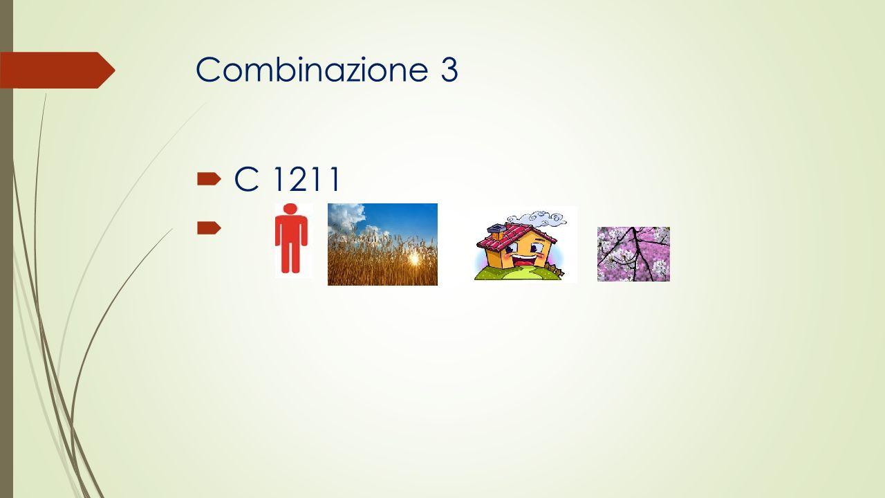 Combinazione 3 C 1211