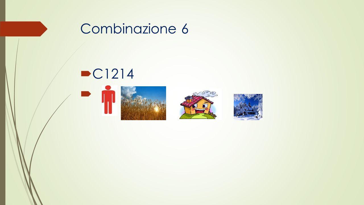 Combinazione 6 C1214