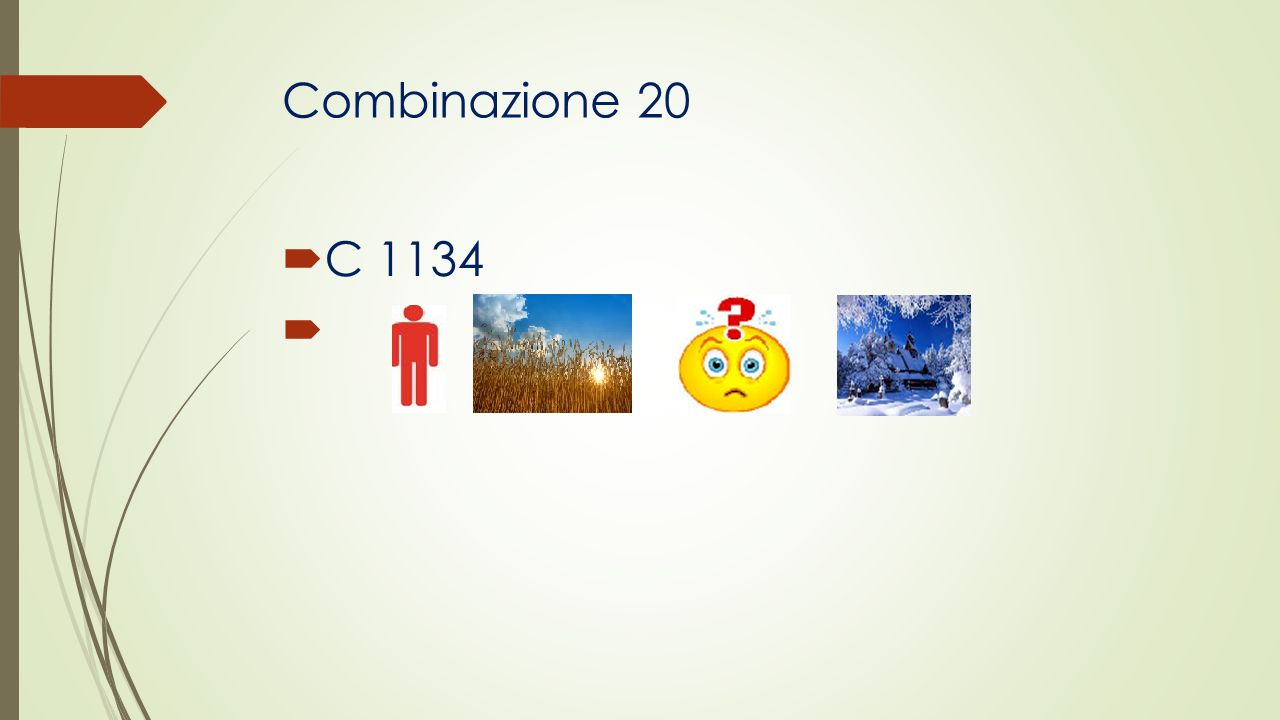 Combinazione 20 C 1134