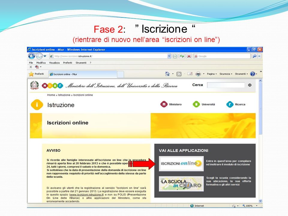 Accesso come utente registrato (Inserire negli appositi spazi i dati ricevuti per e-mail)