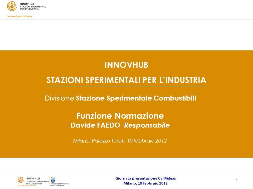 Giornata presentazione Call4ideas Milano, 10 febbraio 2012 1 Luogo, data…………..