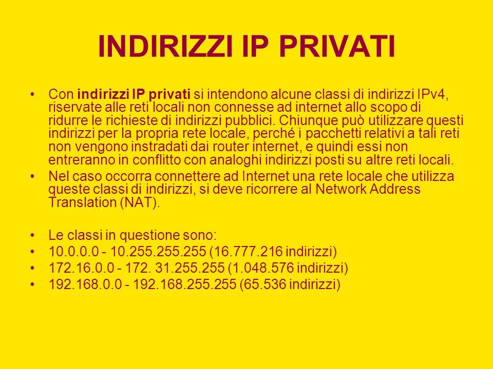 IMAP (INTERNET MESSAGING ACCESS PROTOCOL) È il nuovo concorrente del protocollo POP, di gran lunga più evoluto ma ancora poco diffuso in quanto la quasi totalità dei servizi Internet è basata su POP3.