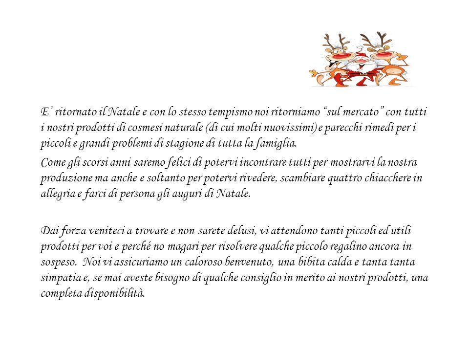 Date e luoghi dei mercatini in cui ci potrete trovare: Sabato 29 novembre 2008 mercatino di Mendrisio Luogo: Via San Damiano (bancarelle no.