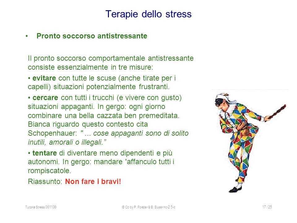 Tutoria Stress 061106© Cc by P.Forster & B.