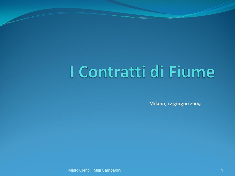Milano, 12 giugno 2009 Mario Clerici - Mila Campanini1