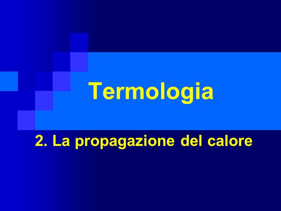 Termologia 2. La propagazione del calore