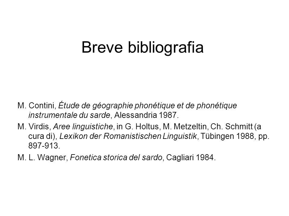 Breve bibliografia M.