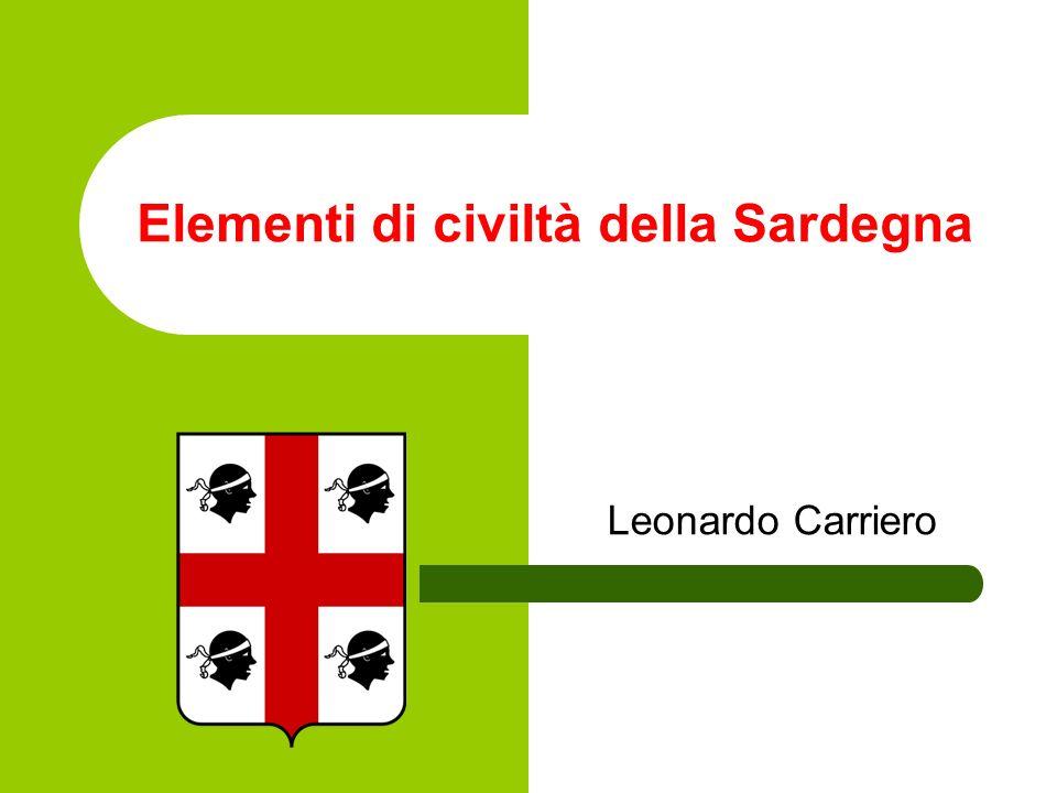 Elementi di civiltà della Sardegna Leonardo Carriero
