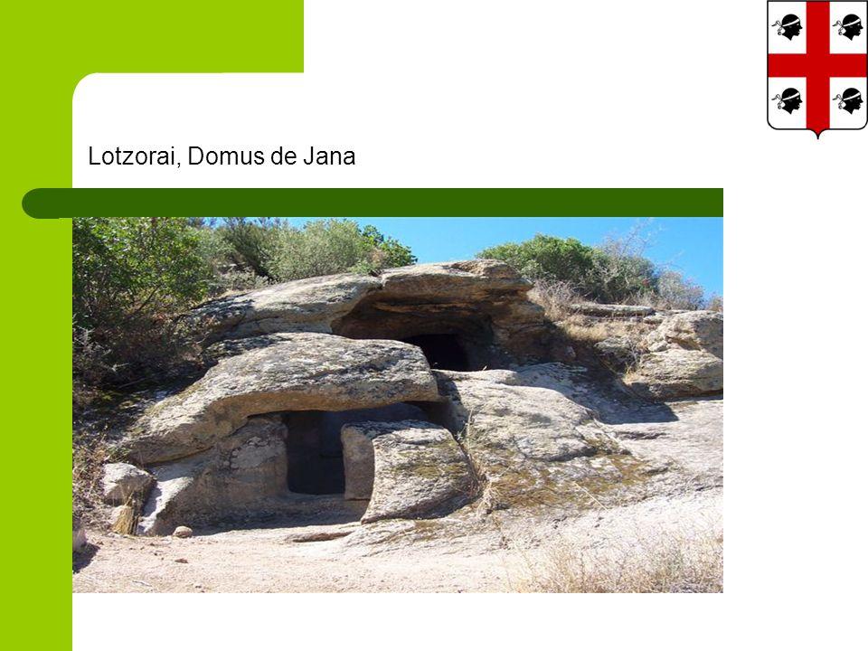 Lotzorai, Domus de Jana