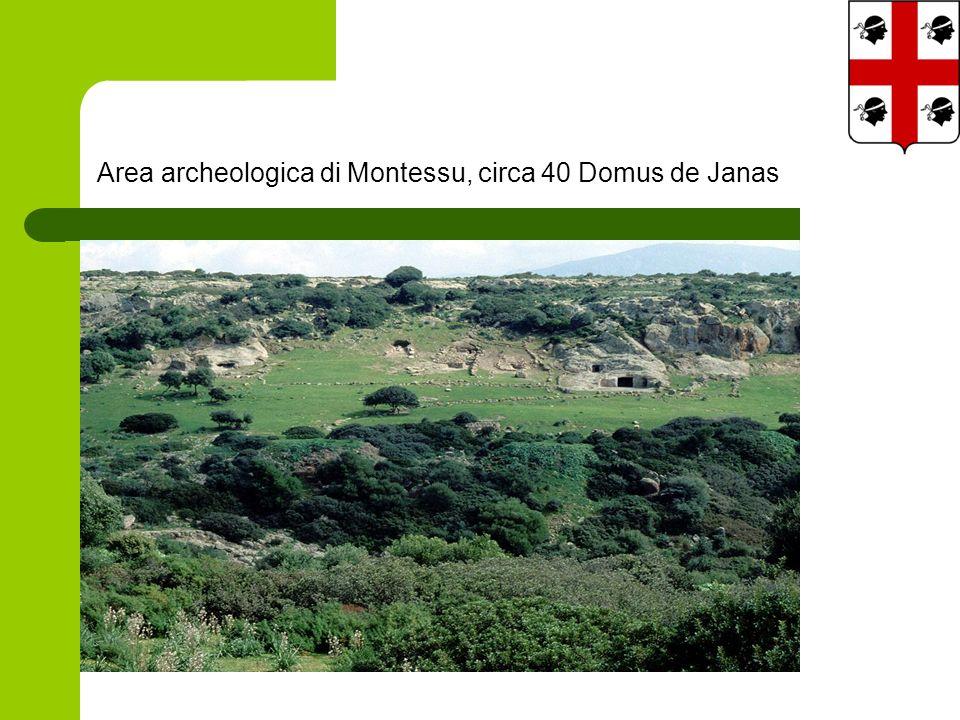 Area archeologica di Montessu, circa 40 Domus de Janas