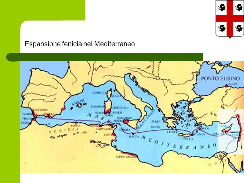 Espansione fenicia nel Mediterraneo