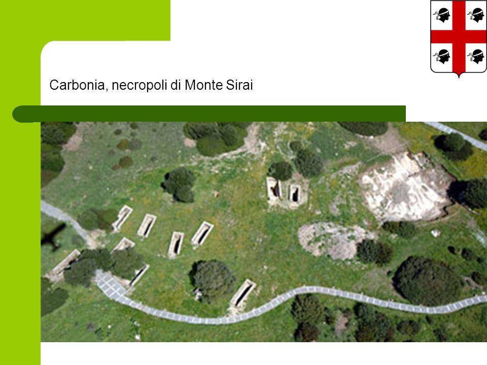 Carbonia, necropoli di Monte Sirai