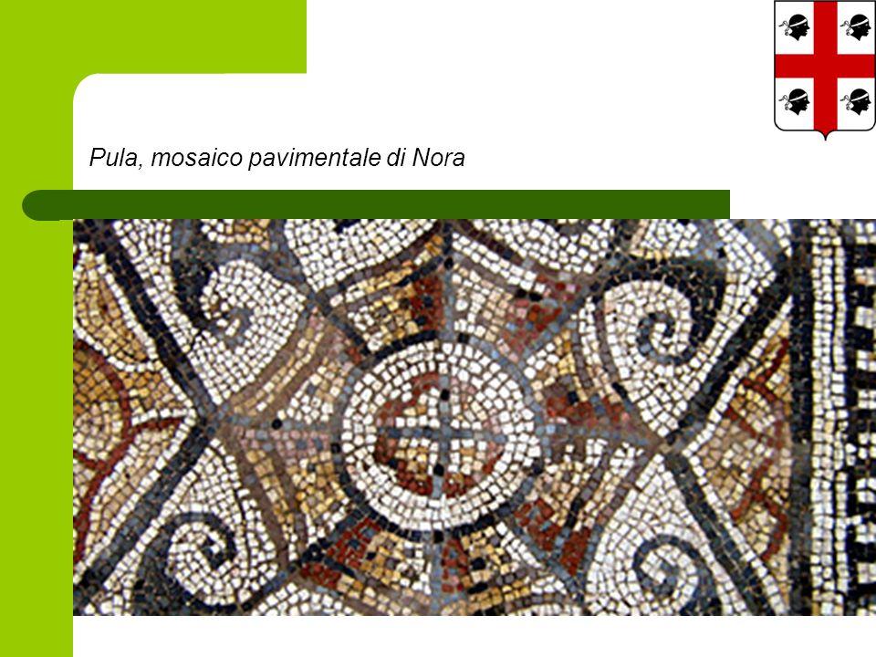 Pula, mosaico pavimentale di Nora