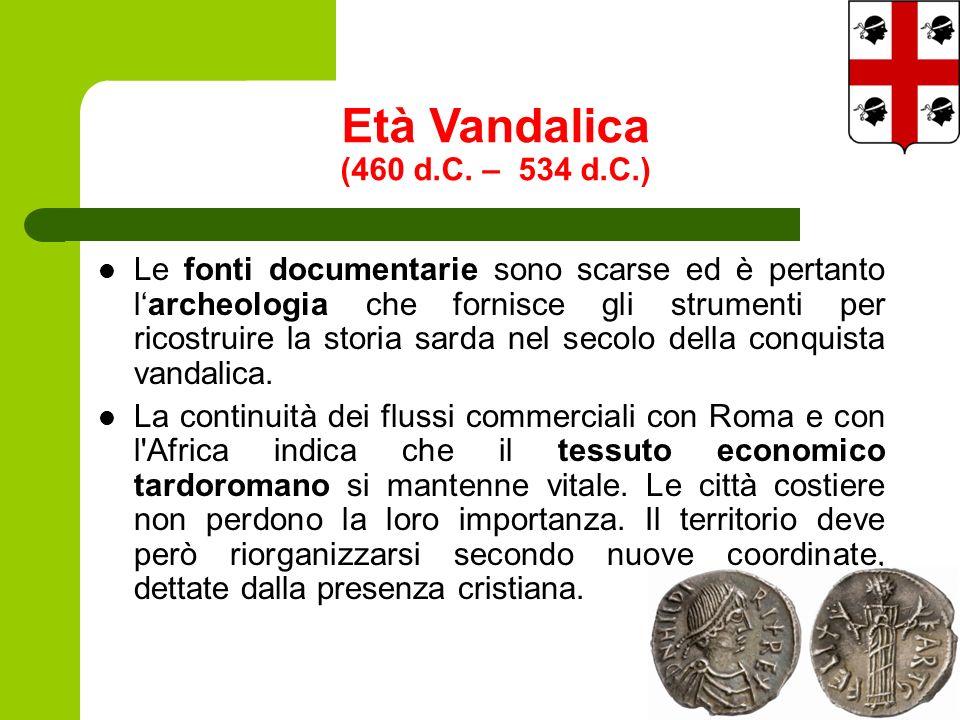 Età Vandalica (460 d.C.