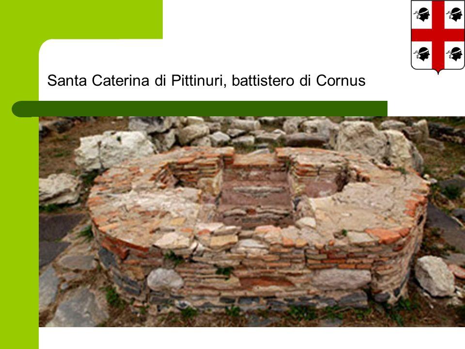 Santa Caterina di Pittinuri, battistero di Cornus