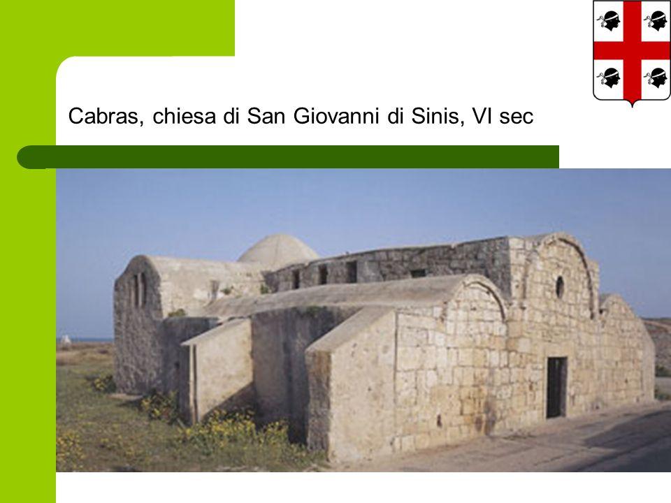 Cabras, chiesa di San Giovanni di Sinis, VI sec