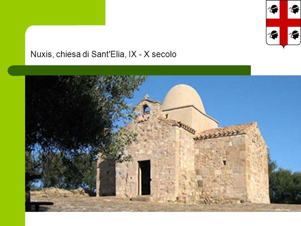 Nuxis, chiesa di Sant Elia, IX - X secolo