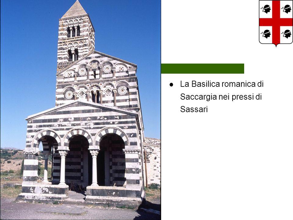 La Basilica romanica di Saccargia nei pressi di Sassari
